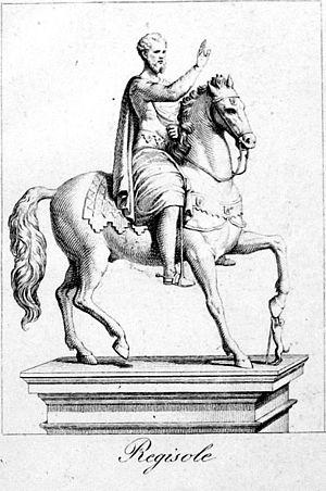 Regisole - Regisole reproduction (C. Ferreri, 1832).