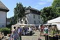 Reichshof Denklingen - Hauptstraße - Burgplatz + Burg 01 ies.jpg