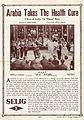 Release flier for ARABIA TAKES THE HEALTH CURE, 1913.jpg