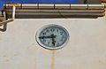 Rellotge al costat de l'església de Quatretondeta.JPG