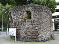 Remains from the old city wall of Duisburg.JPG