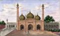 Reminiscences of Imperial Delhi Sonheri or Golden Mosque.png