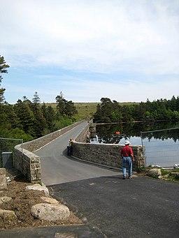 Reservoir bridge - Venford - geograph.org.uk - 1321516