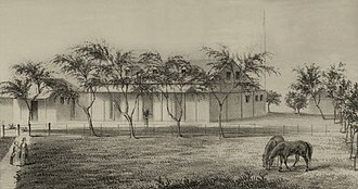 Guillermo Miller - Residence of the British Consul in Honolulu, 1853
