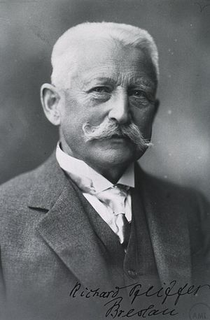 Richard Friedrich Johannes Pfeiffer - c. 1928