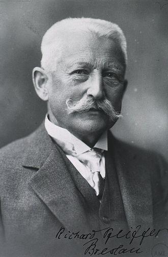 Richard Friedrich Johannes Pfeiffer - c. 1928