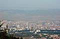 Ride with Simeonovo Cablecar to Aleko, view to Sofia 2012 PD 024.jpg