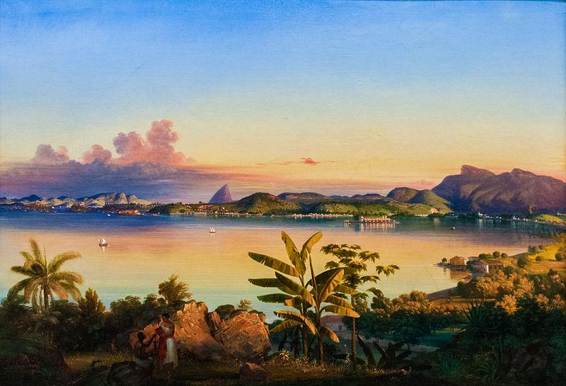 File:Rio de Janeiro by Alessandro Cicarelli 1844.jpg