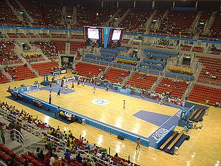 Jeunesse Arena Indoor multi-purpose arena in Brazil