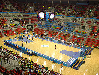 Jeunesse Arena - The then-Arena Olímpica during the 2007 Pan American Games