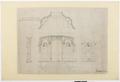Ritning trappuppgången, Hallwylska palatset - Hallwylska museet - 102147.tif