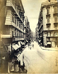 Rive, Roberto (18..-1889) - n. 004 - Strada Toledo, Napoli - Dated on back April 10, 1875.jpg