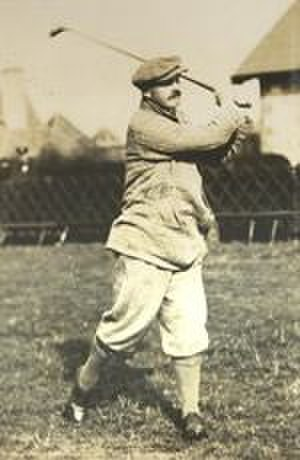 Robert Maxwell (golfer) - Maxwell at Muirfield, c. 1904
