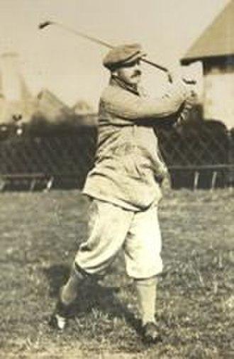 Robert Maxwell (golfer) - Maxwell at Muirfield, c. 1904