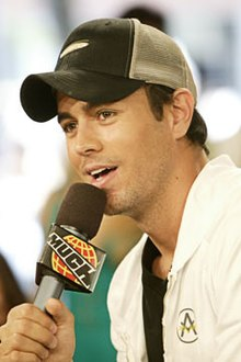 Enrique Iglesias on MuchMusic's MuchOnDemand in Toronto, Canada.