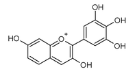 Chemical structure of robinetinidin
