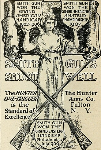 Lyman Cornelius Smith - 'Smith gun' advertisement