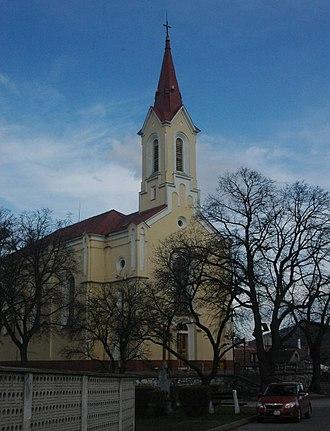 Rohožník, Malacky District - Church