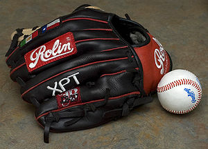 Baseball glove - A custom made Rolin baseball glove