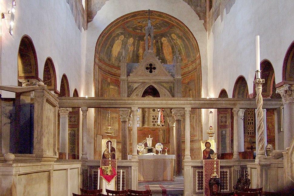 Roma Santa Maria in Cosmedin BW 1