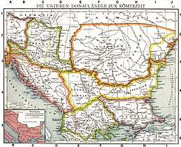 Roman provinces of Illyricum, Macedonia, Dacia, Moesia, Pannonia and Thracia.jpg
