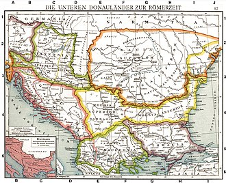 Danubian Limes - The Roman provinces along the Danube