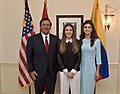 Ron, Casey DeSantis and Fabiana Rosales in Tallahassee (1).jpg