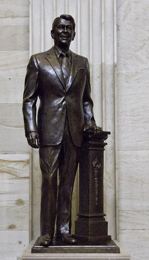 Ronald Reagan (Fagan) - The statue in the National Statuary Hall Collection