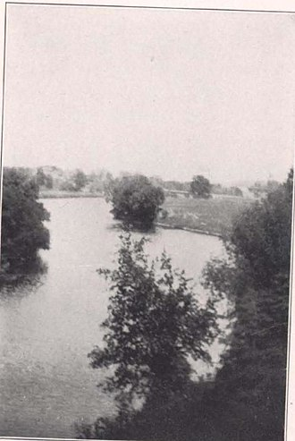 Root River (Wisconsin) - Root River, Racine in early 20th century