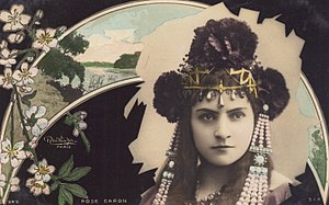 Rose Caron - Image: Rose Caron Belle Epoque Operatic Soprano by Reutlinger, circa 1905