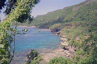 Küste von Rota (Nördlichen Marianen)