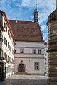 Rothenburg ob der Tauber, Marktplatz 2, Ansicht von Westen -20160108-001.jpg