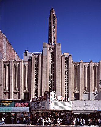 Broadway Theater District (Los Angeles) - Roxie Theatre