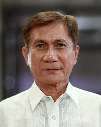 Secretary of Environment and Natural Resources (Philippines) - Image: Roy Cimatu NAPOCOR