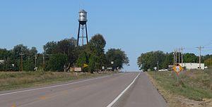 Royal, Nebraska - Royal, seen from the east along U.S. Highway 20