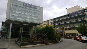 Royal Hobart Hospital - Image: Royal hbt hospital(front)