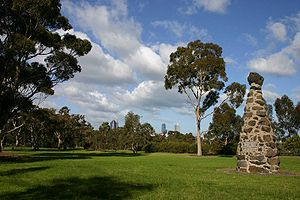 Royal Park, Melbourne - Image: Royal Park Melbourne
