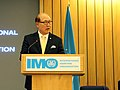 Royal visit to IMO's Maritime Safety Committee (32330370818).jpg