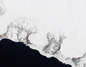 Novaya Zemlya - Image: Roze Glacier, Novaya Zemlya
