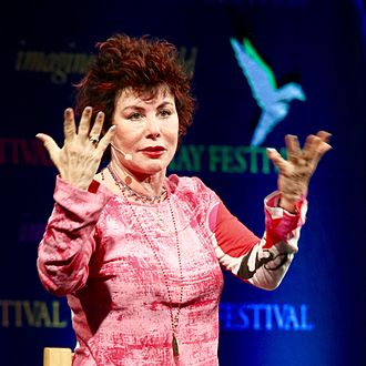 Ruby Wax - Wax at the 2016 Hay Festival