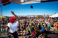 Prize Giveaway, Phoenix Rugged Maniac Festival, 2015