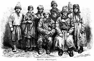 Skolts - Image: Russian Skolt Sami after Photo 1871