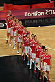 Russian Womens Backetball Team Lineup for their Anthem - London 2012 Olympics.jpg