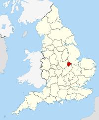 Rutland within England