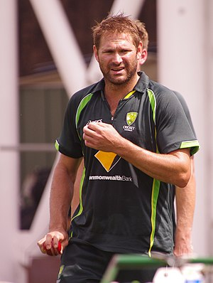 Ryan Harris (cricketer) - Harris in 2014