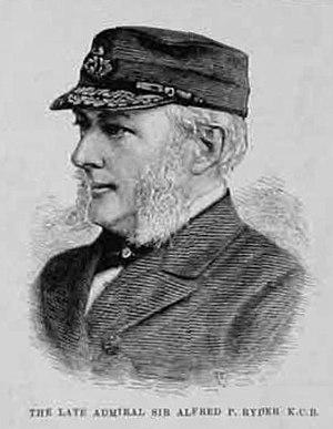 Alfred Ryder (Royal Navy officer) - Sir Alfred Ryder