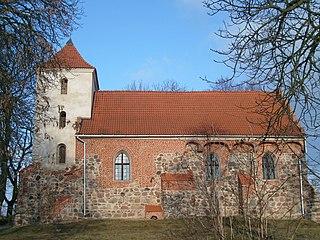 Ryńsk Village in Kuyavian-Pomeranian Voivodeship, Poland