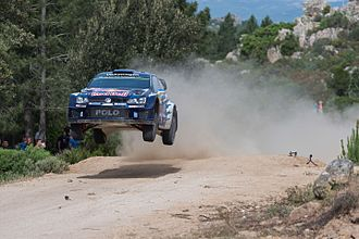 Julien Ingrassia - Sébastien Ogier and Julien Ingrassia at the 2015 Rally Italy.