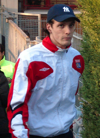 Sébastien Squillaci - Squillaci at Lyon in 2007