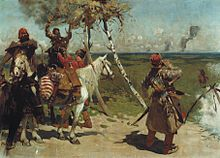 S. V. Ivanov. At the guarding border of the Moscow state. (1907).jpg